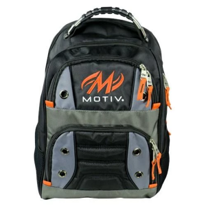 Intrepid Back Pack Black-Orange