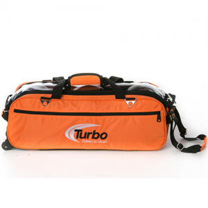 Turbo 3 Ball Express Travel Tote Orange