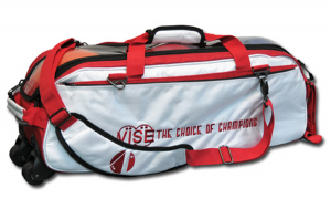 Vise Triple Tote White-Red